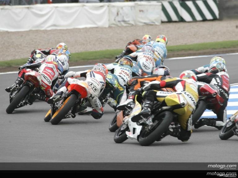 125cc - Circuit Action Shots -  British Grand Prix