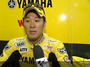 Makoto TAMADA after FP2