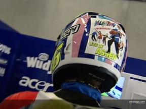 Rossi show off helmet designs