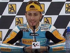 決勝レース:M.パシーニ インタビュー