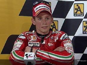 Casey STONER post gara