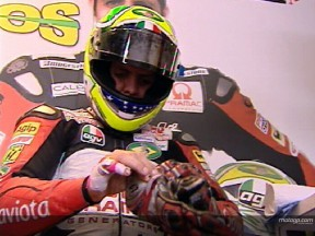 Alex BARROS after FP2