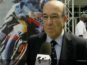 Dorna's Carmelo Ezpeleta on IMS 2008