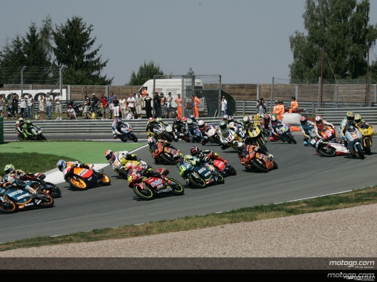 125cc - Circuit Action Shots -  Grand Prix Deutschland