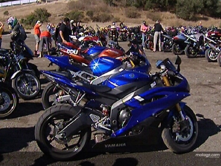 US motorbike nuts gear up at Laguna
