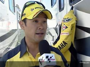 Makoto TAMADA  after race