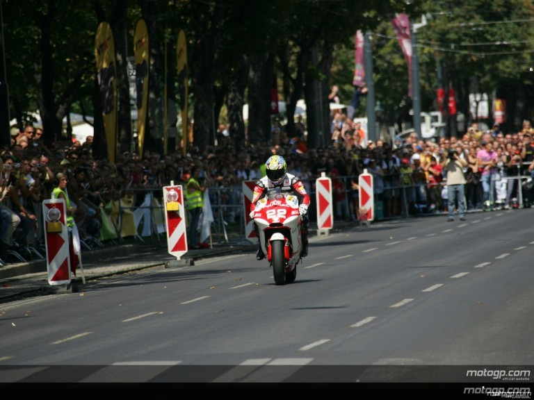 MotoGP visits Vienna