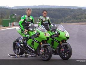 Kawasaki return to lime green roots