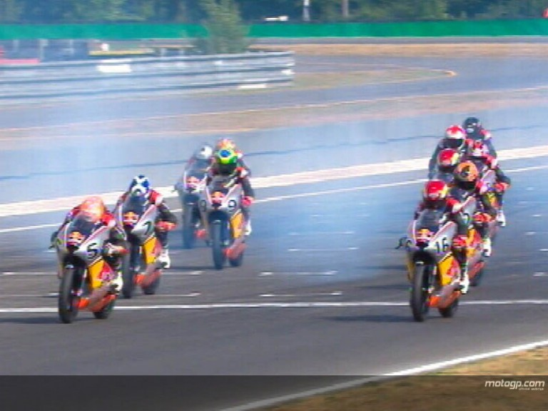 Red Bull MotoGP Rookies Cup Rd 6 Highlights