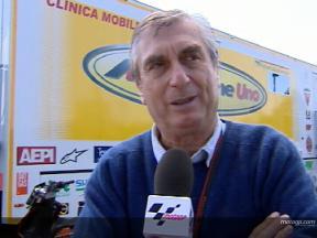 Dr Claudio Costa on Marco Melandri