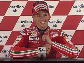 Casey STONER after QP