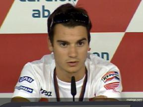 Pedrosa hoping for good race tyres