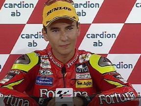 Jorge LORENZO tras la carrera