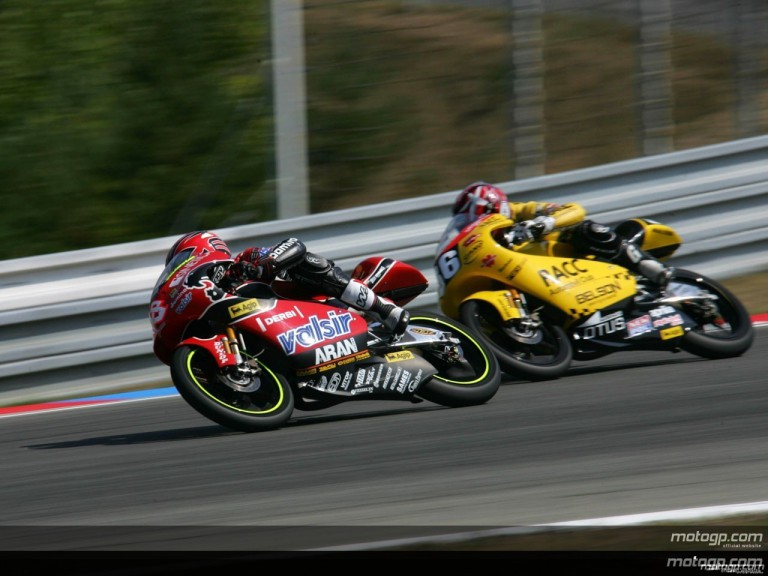 125cc - Circuit Action Shots -  Grand Prix Ceske Republiky