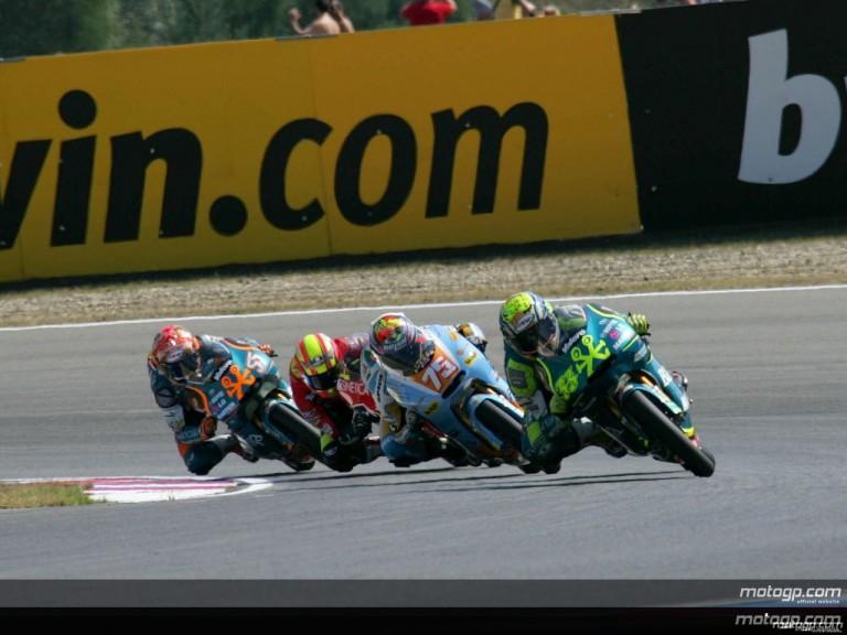 125cc - Circuit Action Shots -  Grand Prix Ceske Republiky