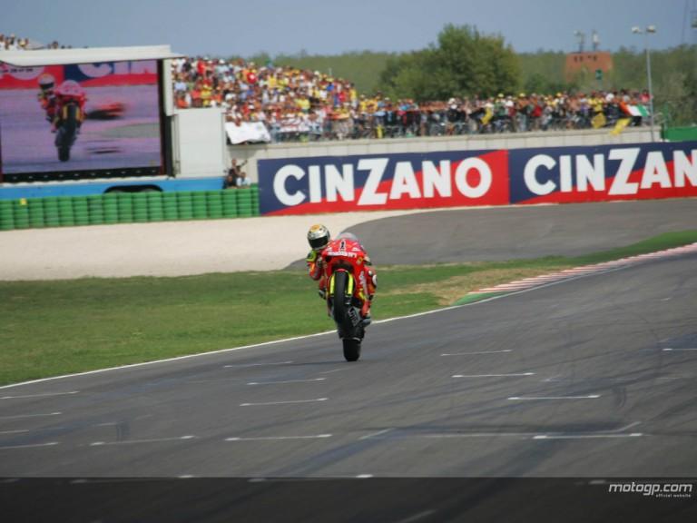 Lorenzo Misano wheelie