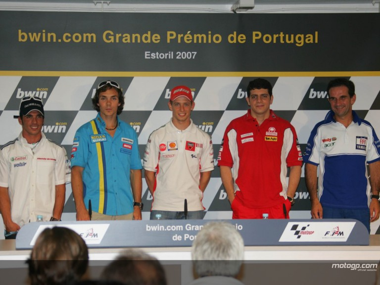 MOTOGP PRESS CONFERENCE ESTORIL