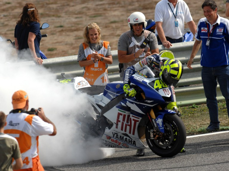 Rossi Estoril celebration 160907