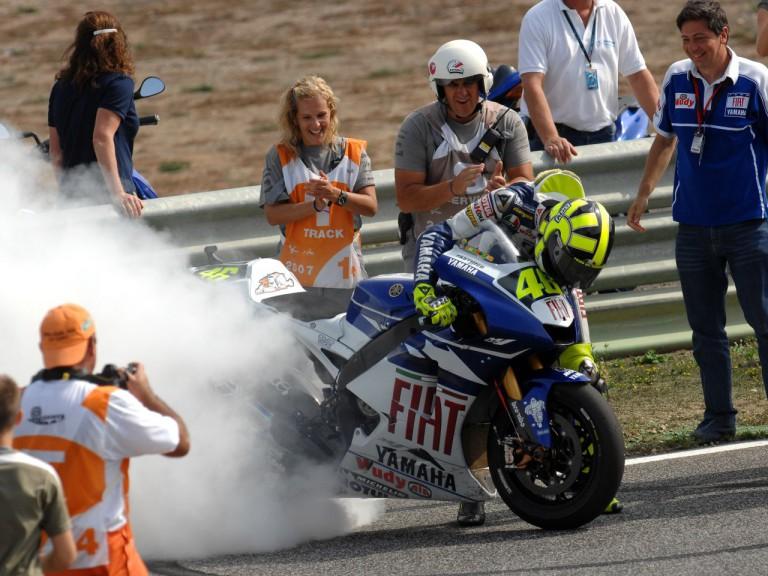 Rossi Estoril celebration 160907