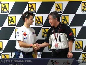 Honda extend Pedrosa deal in Japan
