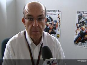 Ezpeleta on 2008 tyre proposal