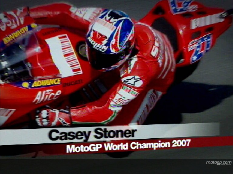 Casey STONER - 2007 World Champion