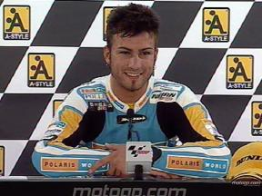 Mattia PASINI after race