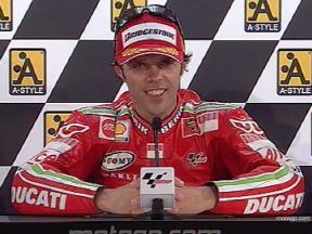 Loris CAPIROSSI after race