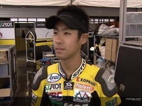 Yuki TAKAHASHI tras la carrera
