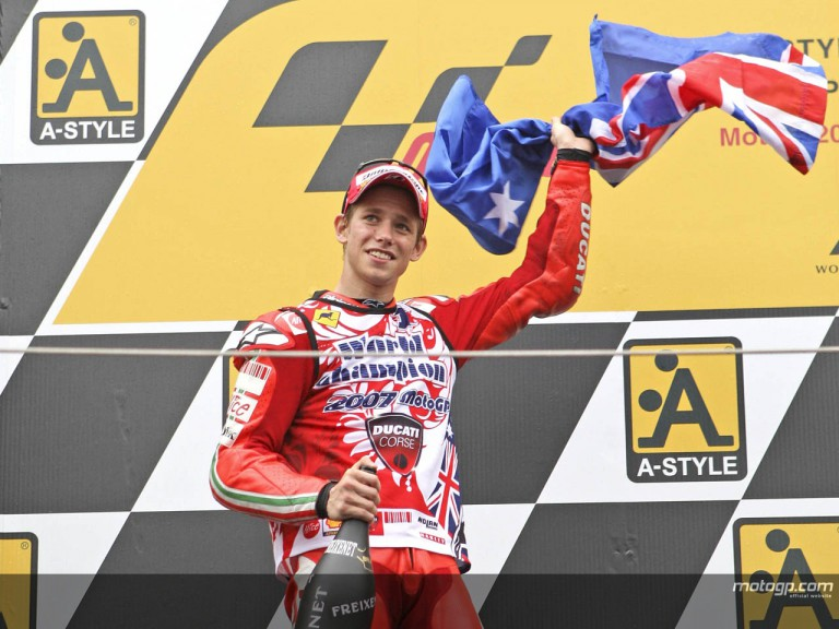 Stoner Motogp world Champion