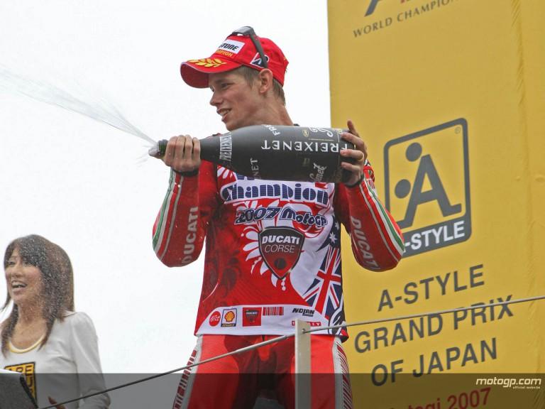 Stoner Motogp world Champion