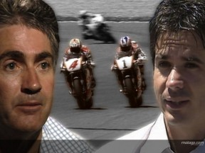 Criville and Doohan´s classic rivalry