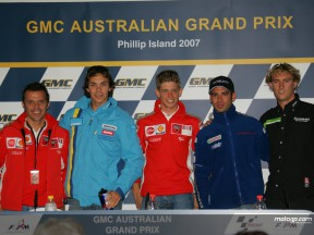 PRESS CONFERENCE PHILLIP ISLAND
