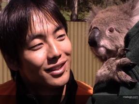 Riders get a glimpse of Aussie wildlife