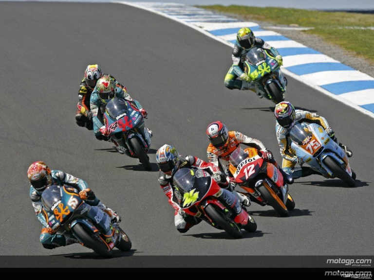 125cc - Circuit Action Shots - Australian Grand Prix