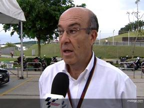 Dorna CEO Ezpeleta on tyre situation
