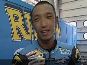 Nobuatsu AOKI  after race