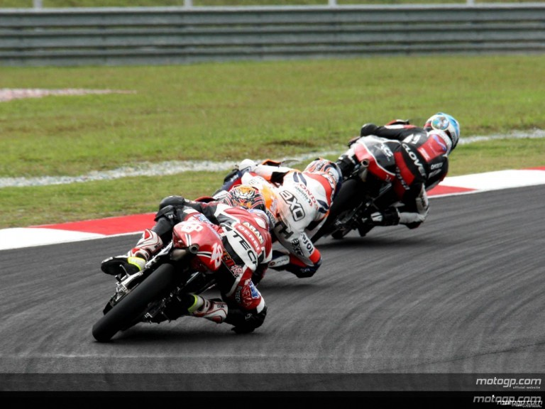 125cc - Circuit Action Shots - Sepang