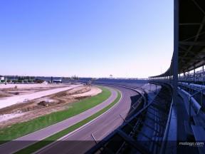 Indianapolis MotoGP track construction underway