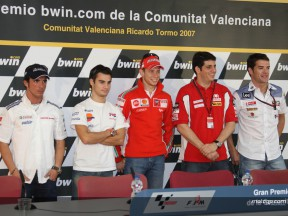 MotoGP PRESS CONFERENCE VALENCIA