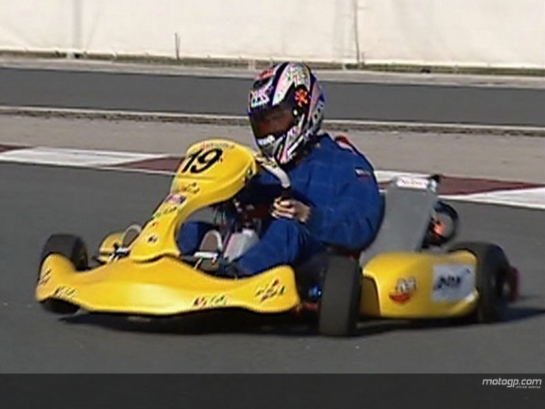 MotoGP stars enjoy karting fun