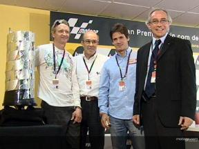 New MotoGP trophy unveiled