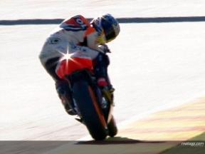 Final 250cc battle in Valencia