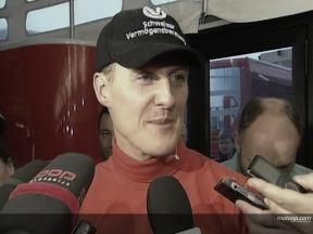 Schumacher on his MotoGP Day