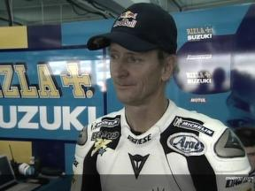 MotoGP Legend Schwantz on Media Test