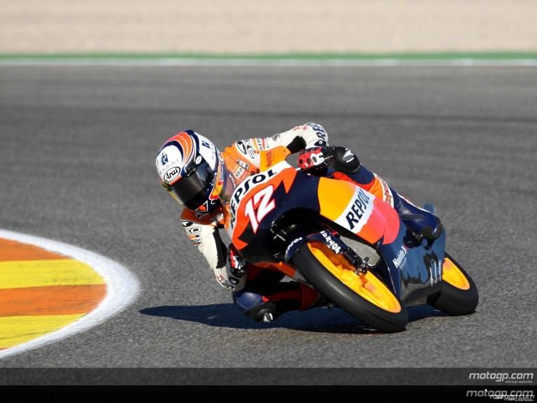 125 cc - Action Shots - Gran Premio de Valencia
