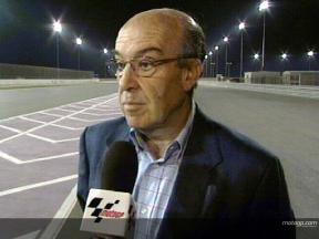 Dorna CEO Ezpeleta on Qatar project