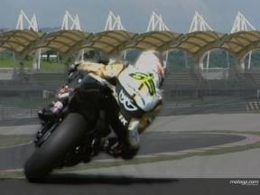 Riders get Sepang test underway