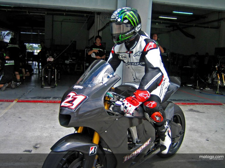 Winter testing continues at Sepang