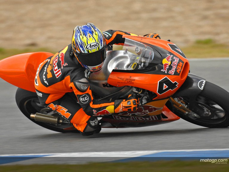 250cc testing underway at Jerez